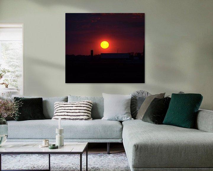Sfeerimpressie: Sunset van Erik van Riessen