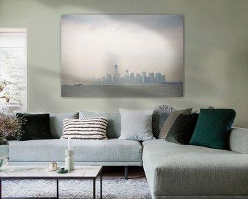 New York Skyline van Cesar Koot