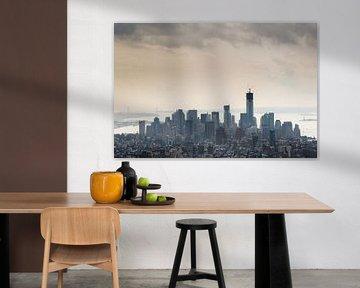 Skyline New York van Cesar Koot