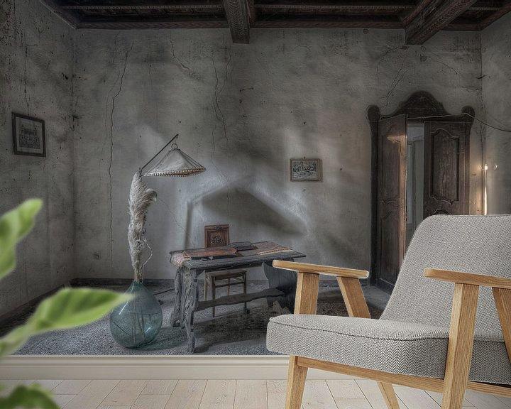 Beispiel fototapete: Bureau shadows von Hettie Planckaert