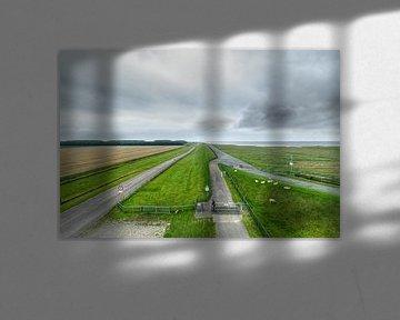 Waddendijk van Marnefoto .nl