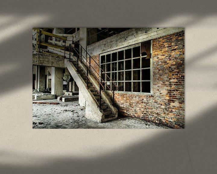 Sfeerimpressie: Staircase (Urbex) van Jaco Verheul