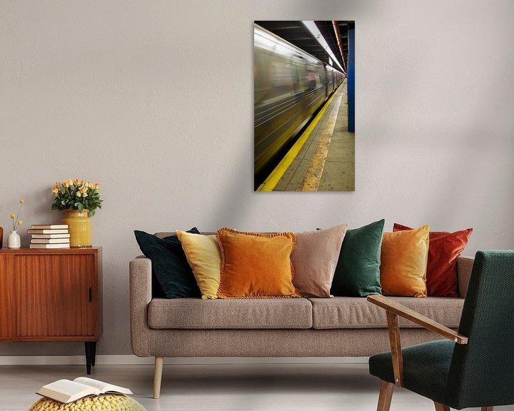 Sfeerimpressie: Subway New York van Guido Akster