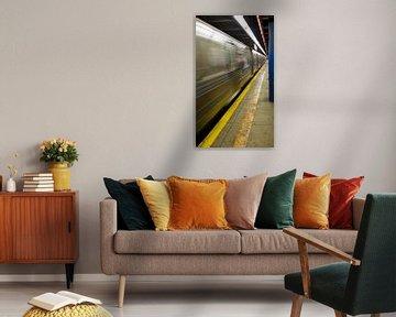 Subway New York von Guido Akster