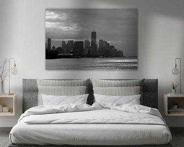 Skyline of New York von Guido Akster