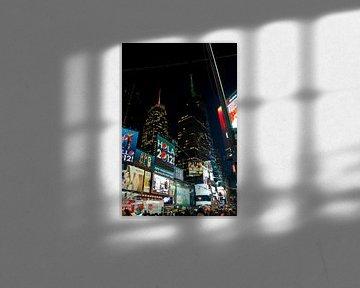 Times square New York von Guido Akster