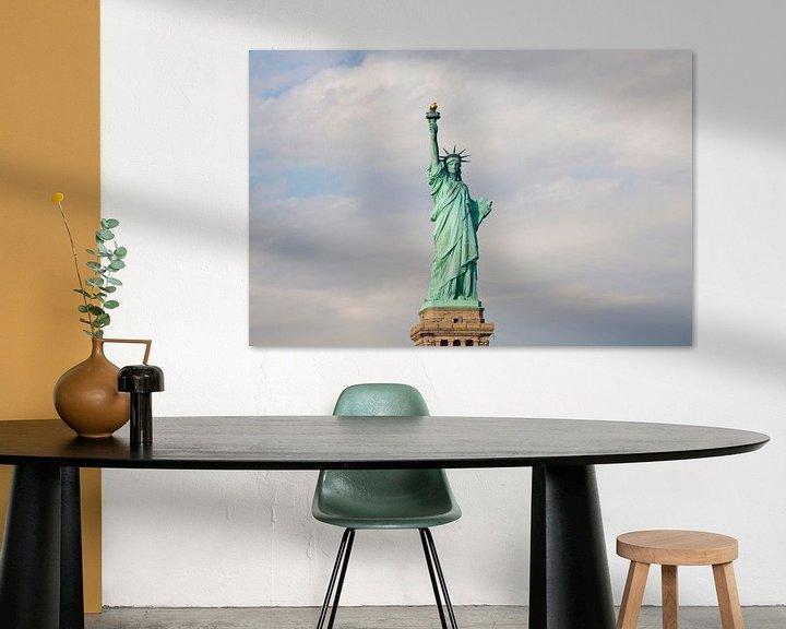 Sfeerimpressie: Vrijheidsbeeld New York van Guido Akster