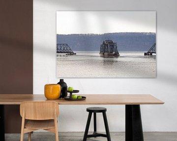 train Bridge New York von Guido Akster