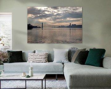 George Washington Bridge New York von Guido Akster