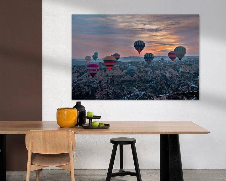 Sfeerimpressie: Ballonvaart Cappadocie  Turkije van Paul Franke
