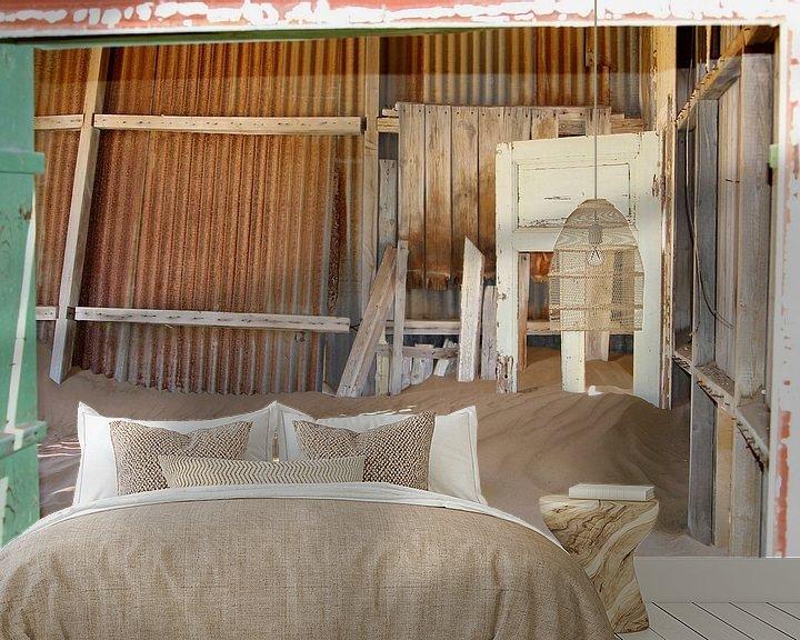Beispiel fototapete: Verlassenes Krankenhaus, Kolmanskop von Inge Hogenbijl