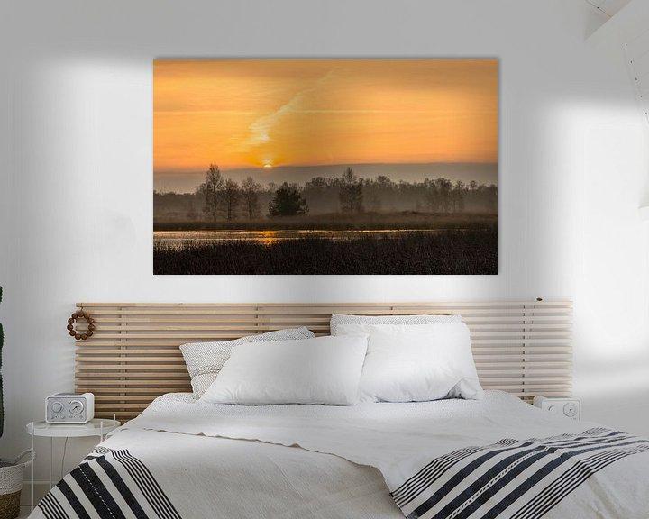 Sfeerimpressie: Cloudy Sunrise van William Mevissen