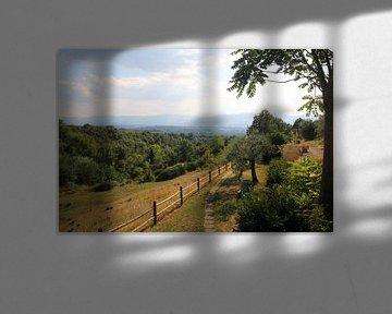 Toscaans heuvel Landschap van Paul Franke