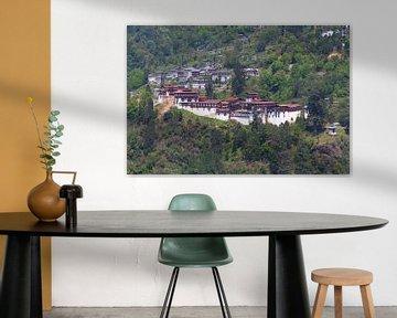 Trongsa Dzong van Erwin Blekkenhorst