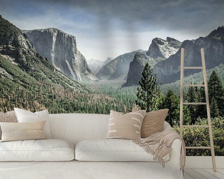 Sfeerimpressie behang: Yosemite op haar mooist van Chantal Nederstigt