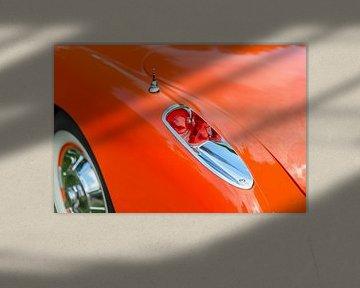 Chevrolet Corvette C1 Amerikaans sportwagen detail van Sjoerd van der Wal