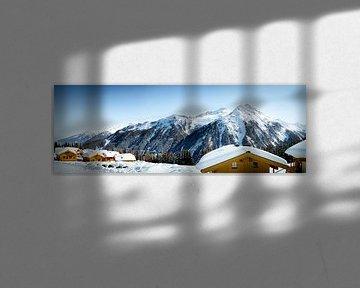 Mountains of Snow van Sander van Mierlo
