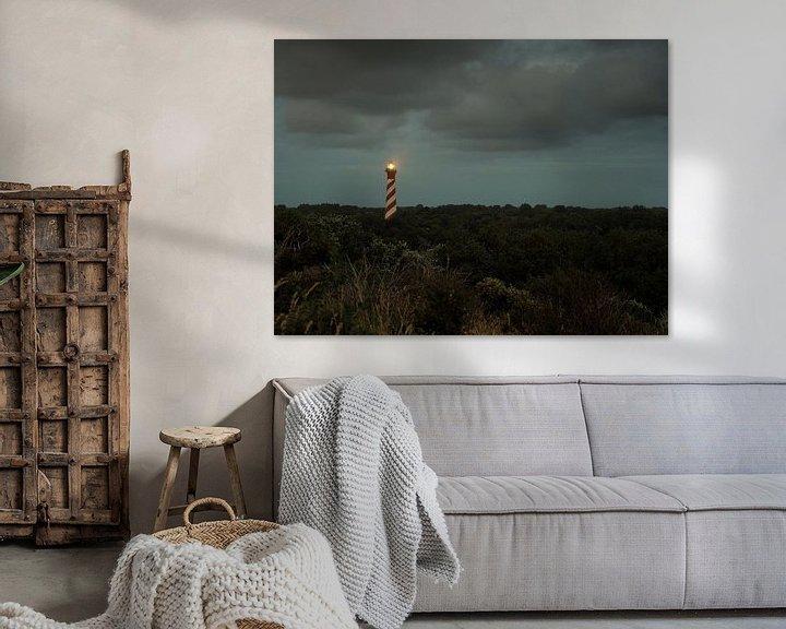 Sfeerimpressie: Vuurtoren van Jorna Blokland