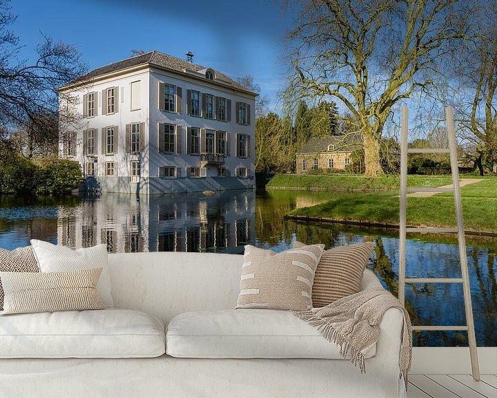 Sfeerimpressie behang: Huis Voorstonden, Brummen, Gelderland, Netherlands van Martin Stevens