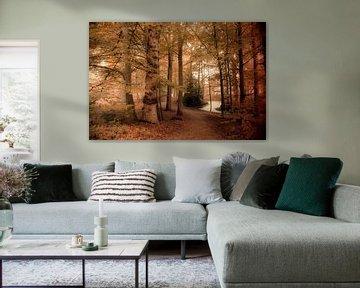 Magical Forest van Marianne Henstra