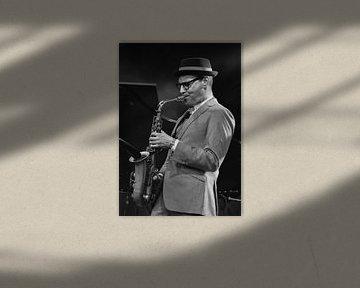 Benjamin Herman / Delft Jazz van Mario Brussé Fotografie