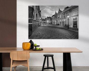 Gevels Hofstraat Dordrecht van Peter Bolman