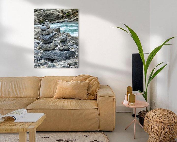 Sfeerimpressie: Stenen van Bob Jansen