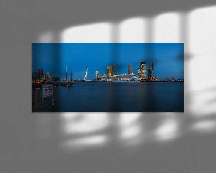 Sfeerimpressie: Het cruiseschip AIDA Prima in Rotterdam van MS Fotografie | Marc van der Stelt