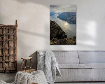 Lysefjorden van Remco de Zwijger