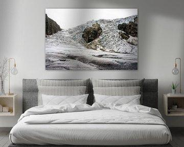 Buerdalen gletsjer van Remco de Zwijger