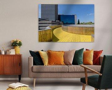 Luchtsingel Rotterdam centrum, Zuid Holland, Netherlands van Martin Stevens