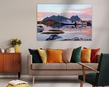 In een heldere zomeravond in Lofoten van Gisela Scheffbuch