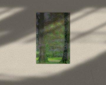 Romantisch bos van Minie Drost