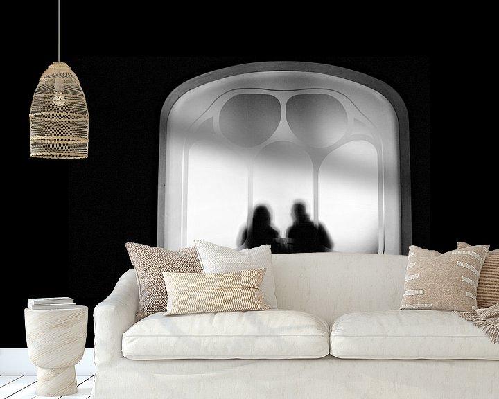Sfeerimpressie behang: Casa Batllo van Inge Berken