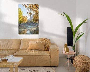 Langs De Gouwe in de herfst van Remco-Daniël Gielen Photography