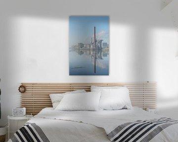 Croda Fabrik entlang des Flusses IJssel von Remco-Daniël Gielen Photography