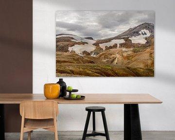 Kerlingarfjöll, IJsland van Frank Laurens