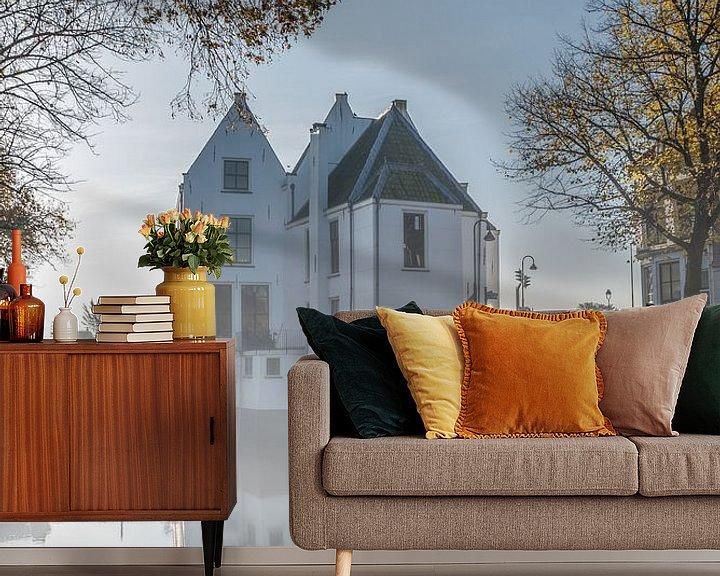 Impression: Tolhuis van Gouda sur une matinée d'automne sur Remco-Daniël Gielen Photography