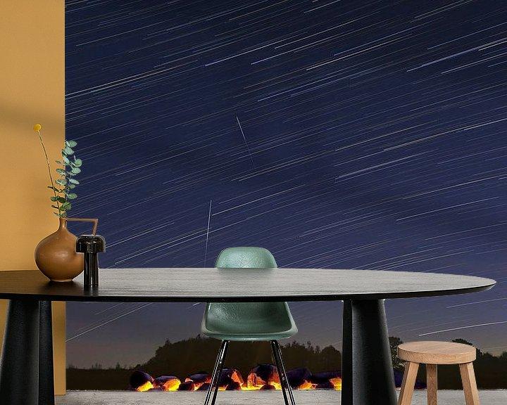 Beispiel fototapete: Stern-Streifen oberhalb Hunebed (vertikal) von Anton de Zeeuw