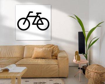 Fiets pictogram