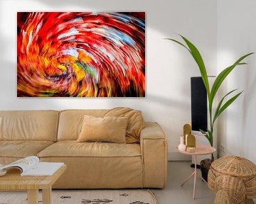 Autumn Spiral van Freddy Hoevers