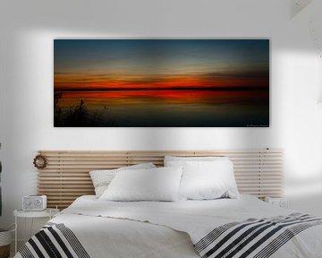 Sunset. van Albert Hoogendoorn