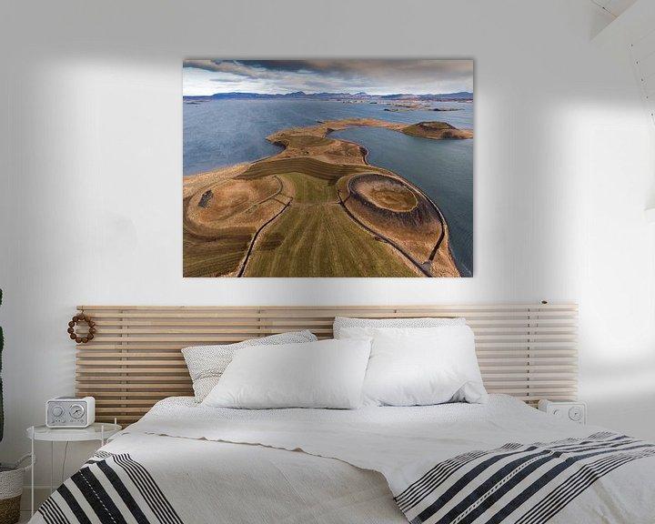 Beispiel: Myvatn Iceland von Ben van Boom