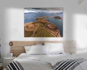 Myvatn Iceland von Ben van Boom