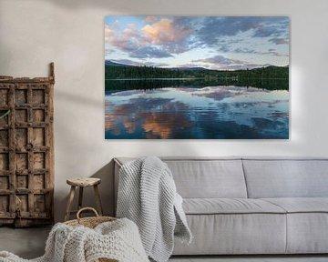 Dutch Lake Reflecties van DuFrank Images