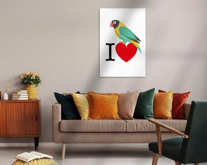 Sfeerimpressie: I Love Birds van Harry Hadders