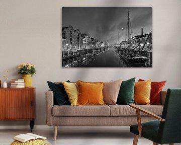 Delfshaven Rotterdam Nederland van Peter Bolman