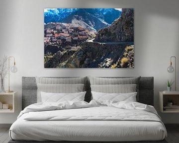mountain view van Dick Hooijschuur