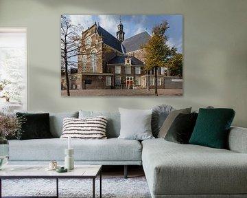 Noorderkerk zonder markt, Amsterdam, Netherlands van Martin Stevens