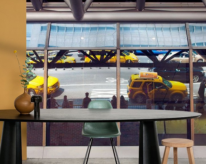 Impression: Yellow Cabs Reflections sur Laura Vink